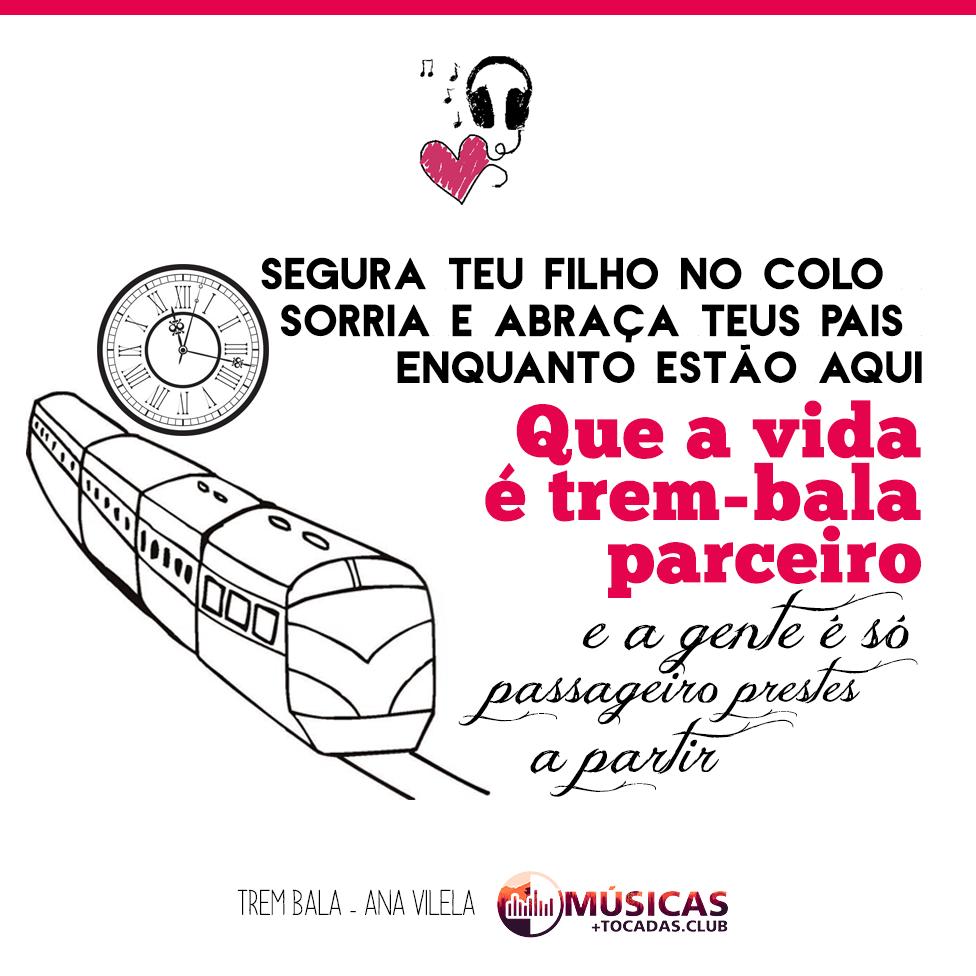 Frase De Música Trem Bala Ana Vilela Música Trem Bala Com
