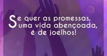 Se quer as promessas
