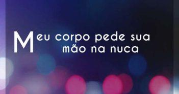 Meu corpo pede sua mão na nuca - Sofia Oliveira