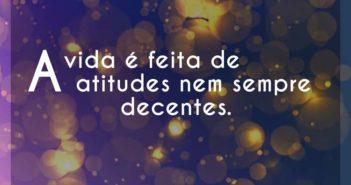 A vida é feita de atitudes nem se - Chorão