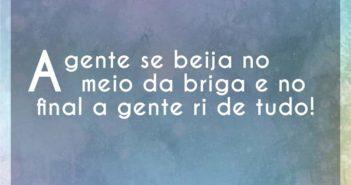 A gente se beija no meio da briga - Hugo Pena