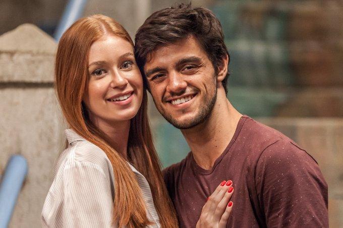 Eliza (Marina Ruy Barbosa) e Jonatas (Felipe Simas) (Divulgação:Globo) Novela Totalmente Demais