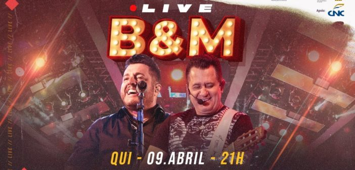 Live Youtube ao Vivo-Bruno e Marrone-quinta-feira 9-04-20