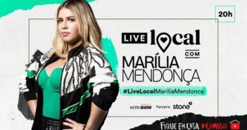Live Youtube ao Vivo-Marília Mendonça-quarta-feira 8-04-20
