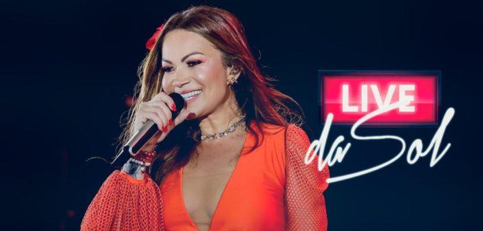 Live Youtube ao Vivo-Solange Almeida-sábado 11-04-20