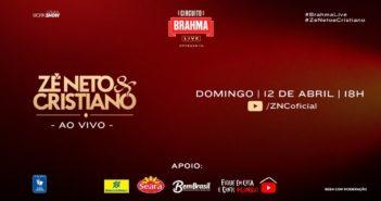Live Youtube ao Vivo-Zé Neto e Cristiano-domingo 12-04-20