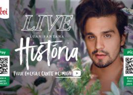 Assistir Live Luan Santana História no Youtube mais de 8 horas ao vivo