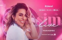 Live YouTube Naiara Azevedo 08-05-2020