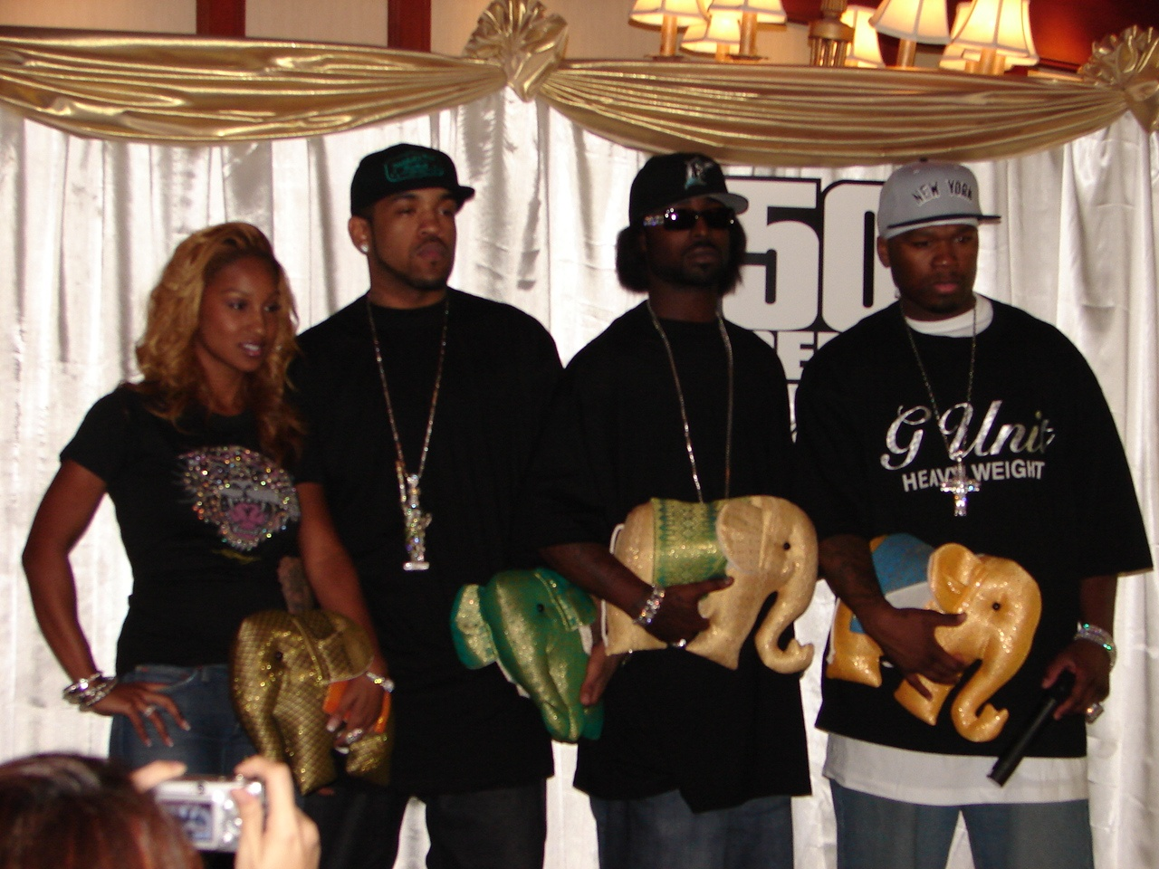 Olivia, Lloyd Banks, Young Buck e 50 Cent