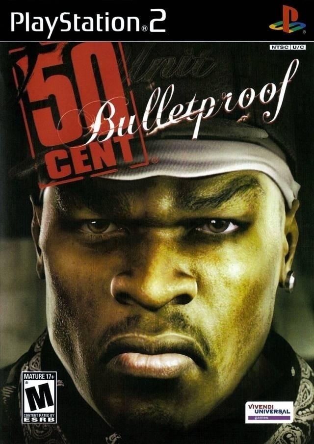 jogo-50-cent-bulletproof-ps2-playstation-2