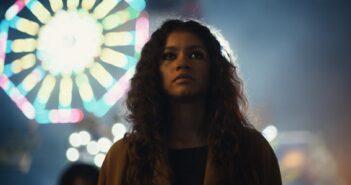 "Zendaya como Rue na primeira temporada de ""Euphoria"""