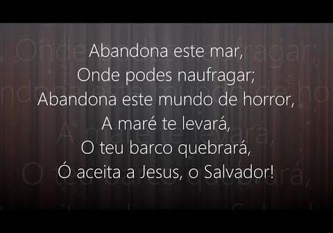Abandona Este Mundo de Horror letras - baixar - vídeo Harpa Cristã