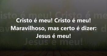 Cristo É Meu letras - baixar - vídeo Harpa Cristã