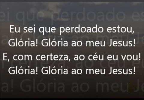 Glória Ao Meu Jesus letras - baixar - vídeo Harpa Cristã