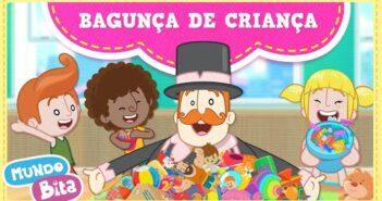 Bagunça De Criança com letras - baixar - vídeo