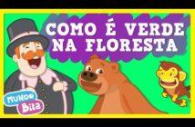 Como é Verde na Floresta [clipe infantil] com letras - baixar - vídeo