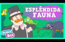 Esplêndida Fauna ft. Jr Black [clipe infantil] com letras - baixar - vídeo