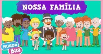 Nossa Família [clipe infantil] com letras - baixar - vídeo
