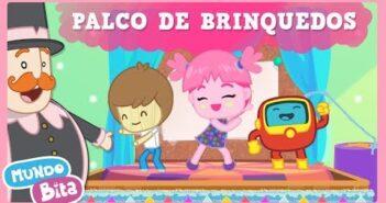 Palco de Brinquedos [clipe infantil] com letras - baixar - vídeo