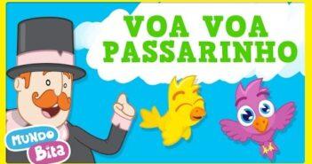 Voa Voa Passarinho [clipe infantil] com letras - baixar - vídeo