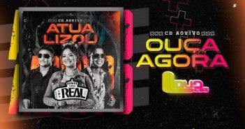 Forró Real Agosto 2021 (Repertório Novo) CD Ao Vivo - LoudCDs