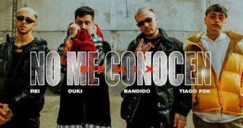 NO ME CONOCEN (REMIX) - BANDIDO