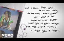 Olivia Rodrigo - traitor (Lyric Video)